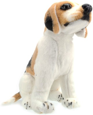 Tickles Beautiful Dog   9 inch White Tickles Soft Toys
