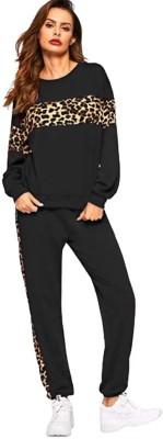 jaydev art Colorblock Women Track Suit