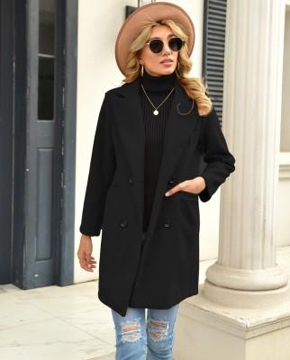 Urbanic Cotton Blend Solid Coat
