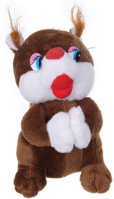 Tickles Gorgeous Squirral   26 cm Brown Tickles Soft Toys