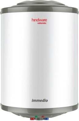 Hindware 15 L Storage Water Geyser (Immedio, White)