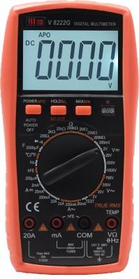 VAR TECH V 8222 G, 3½ Digits, 1000 V DC / 750 V AC, TRUE RMS with Backlight Digital Multimeter(Multicolor 2000 Counts)