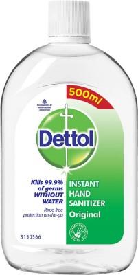 Dettol Instant Hand Sanitizer Bottle(0.5 L)