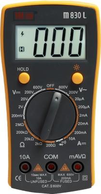 VAR TECH M 830 L, 3½ Digits (2000 Counts), 600 V AC/DC. With Backlight Digital Multimeter(2000 Counts)