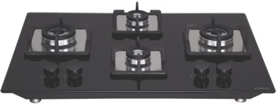 Elica FLEXI BRASS HCT 470 DX Hob Glass Automatic Hob(4 Burners)