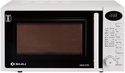 BAJAJ 20 L Grill Microwave Oven(2005ETB, White)
