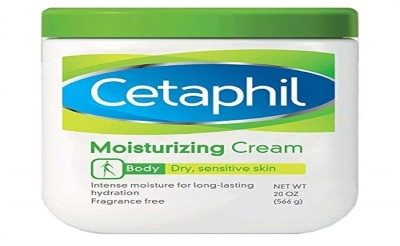 Cetaphil Moisturizing Cream for Dry, Sensitive Skin, Fragrance Free, Non-comedogenic, 20 Oz Each (Pack of 2)(566 g)