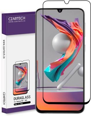 CZARTECH Edge To Edge Tempered Glass for Samsung Galaxy M31, M21,M30,M30S,M10S,A20,A30,A50,A50S,A30S(Pack of 1)