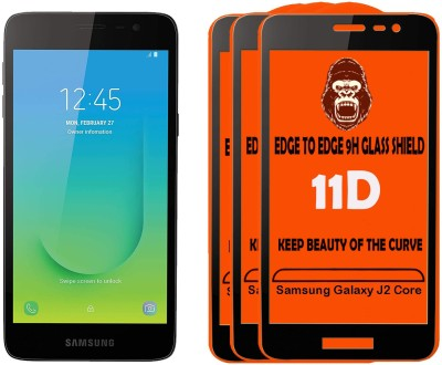 Unirock Tempered Glass Guard for Samsung Galaxy J2 Core(Pack of 3)