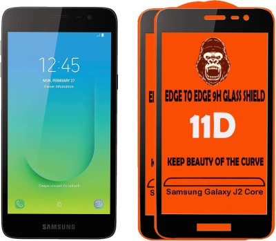 Unirock Tempered Glass Guard for Samsung Galaxy J2 Core(Pack of 2)