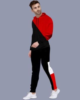 FastColors Colorblock Men Track Suit