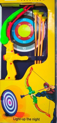 Richuzers Lightning Bow and Arrow Archery Toy Set For Kids Bows & Arrows(Multicolor)