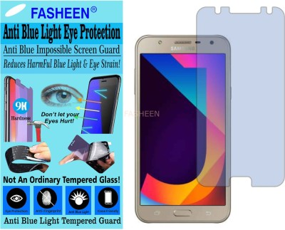 Fasheen Tempered Glass Guard for SAMSUNG GALAXY J7 TOP (Impossible UV AntiBlue Light)(Pack of 1)