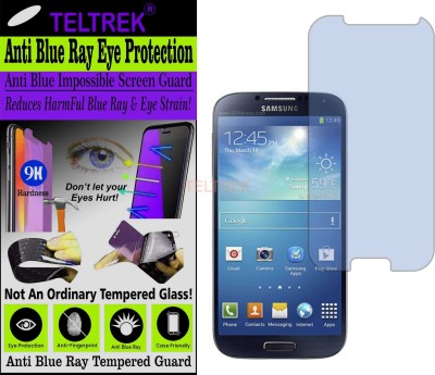 TELTREK Tempered Glass Guard for SAMSUNG GALAXY S4 (I9500) (Impossible UV AntiBlue Light)(Pack of 1)