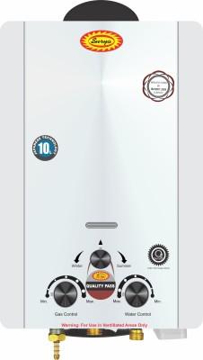 SURYA 10 L Gas Water Geyser (JSD-12-20B-10L, Off White)