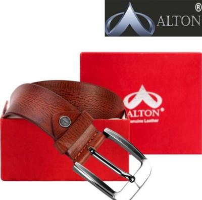 Alton Boys Casual, Party Tan Genuine Leather Belt