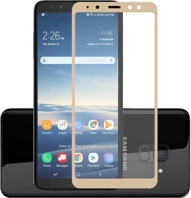 Case Creation Tempered Glass Guard for Samsung J6 SM-J600 G/DS(Pack of 1)