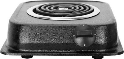 electromate 1000W G Coil Stove Hot Plate Induction Cook top Electric Cooking Heater Electric Cooking Heater (1 Burner) Induction Cooktop(Black,...