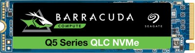 Seagate Barracuda Q5 with M.2 NVMe PCIe Gen3 ×4, 3D QLC for Desktop or Laptop, 1-Year Rescue Services 1 TB...
