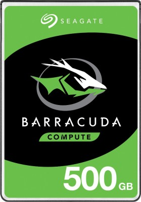 Seagate Barracuda with 2.5 inch SATA 6 Gb/s 5400 RPM 128 MB Cache for PC Laptop 500 GB Laptop Internal...