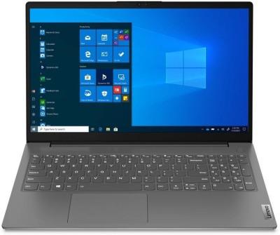 Lenovo Core i3 11th Gen - (4 GB/256 GB SSD/Windows 10 Home) V15 ITL G2 Thin and Light Laptop(15 inch,...