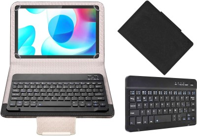 ACM Keyboard Case for Realme Pad 10.4 Inch(Black, Cases with Holder)