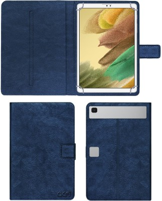 """ACM Flip Cover for Samsung Galaxy Tab A7 Lite Sm-T220 8.7""""(Blue, Cases with Holder)"""