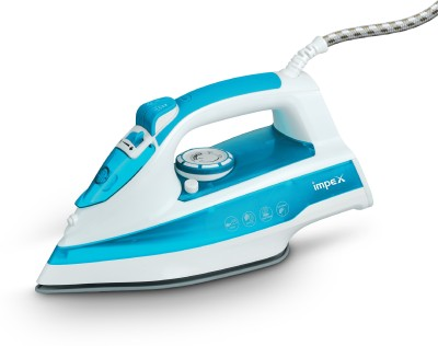 IMPEX IBS-403 (White & Blue) 1250 W Steam Iron(White and blue)