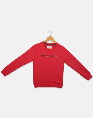 MONTE CARLO Full Sleeve Printed Boys Sweatshirt