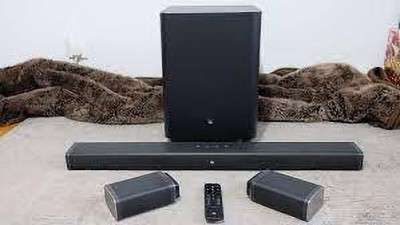 Harman Kardon JBL SOUNDBAR 5.1 510 W Bluetooth Home Theatre(Black, 5.1 Channel)