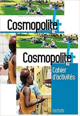 Cosmopolite 4(B2)-Textbook With DVD+Workbook (2 Book Set)(Paperback, Others, Nathalie Hirschsprung, Tony Tricot)