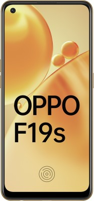 OPPO F19s (Glowing Gold, 128 GB)(6 GB RAM)
