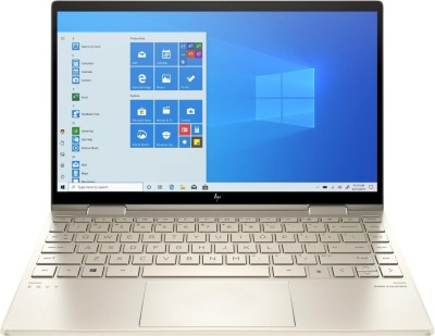 HP Envy 13 x360 Core i7 11th Gen - (16 GB/512 GB SSD/Windows 11 Home) 13 -bd0521TU Thin and Light Laptop(13.3 inch, Pale Gold, 1.30 kg, With MS Office)