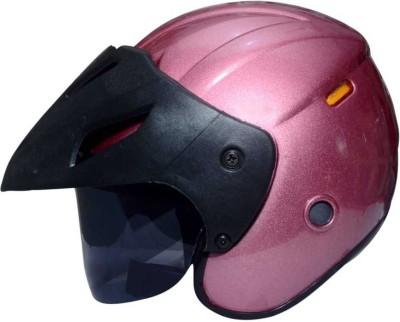 MonteX-1 purple-pink halfface1510 Motorbike Helmet(purplepink)
