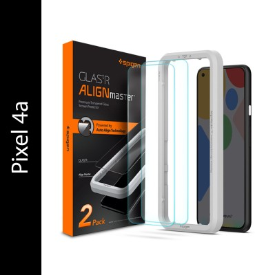Spigen Tempered Glass Guard for Pixel 4a(Pack of 2)