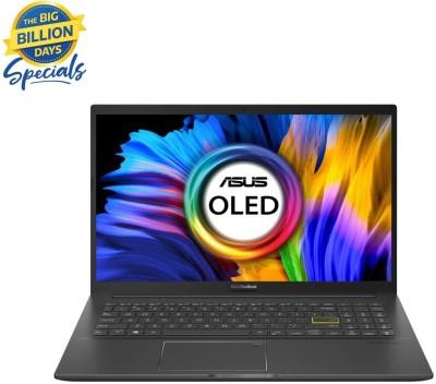 ASUS VivoBook K15 OLED (2021) Core i3 11th Gen - (8 GB/256 GB SSD/Windows 10 Home) K513EA-L302TS Thin and Light...