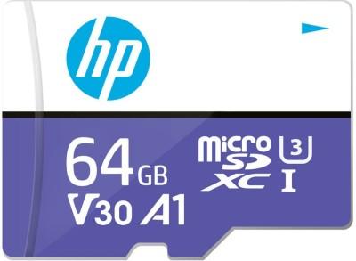 HP V30A1 64 GB MicroSD Card Class 10 100 MB/s Memory Card