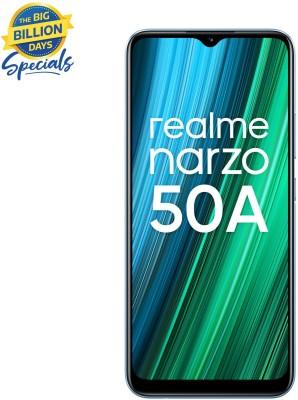 realme Narzo 50A (Oxygen Blue, 64 GB)(4 GB RAM)