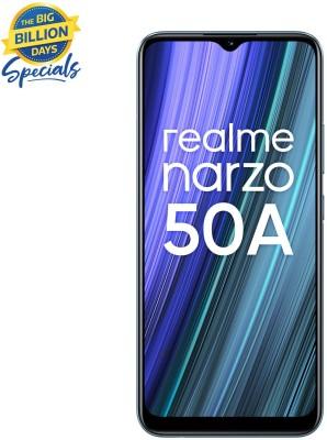realme Narzo 50A (Oxygen Green, 64 GB)(4 GB RAM)