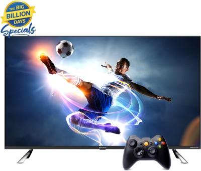 MOTOROLA Revou-Q 139 cm (55 inch) QLED Ultra HD (4K) Smart Android TV with Wireless Gamepad(55UHDAQMDT5Q)