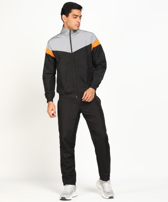 Seven By MS Dhoni Colorblock Men Track Suit