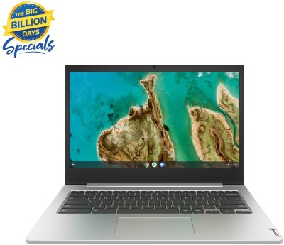 Lenovo IdeaPad 3 Chromebook Celeron Dual Core 4th Gen - (4 GB/64 GB EMMC Storage/Chrome OS) 14IGL05 Thin and Light...