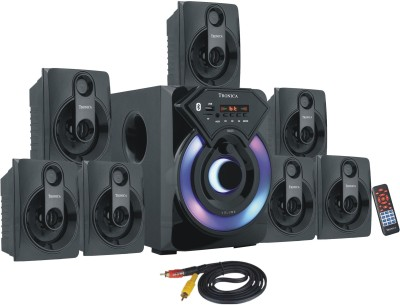 TRONICA cowin 7.1 60 W Bluetooth Home Theatre(Black, 7.1 Channel)