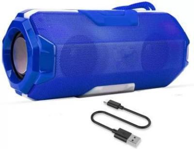 ULTADOR A006 Blue Portable Wireless Bluetooth Speaker with DJ Light USB/Micro SD Card/AUX Multimedia Speaker System Super Bass with USB/FM/TF...