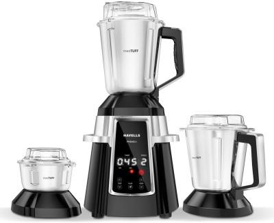 HAVELLS 211 Premio I Premio I 750-Watt Mixer Grinders (Black) 750 Juicer Mixer Grinder (3 Jars, Black)