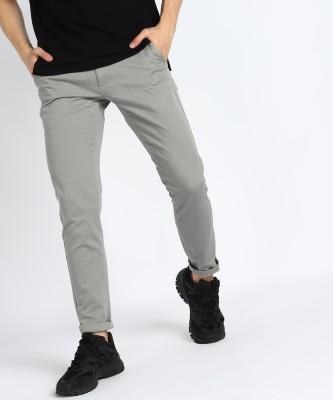 U.S. POLO ASSN. Regular Fit Men Khaki Trousers
