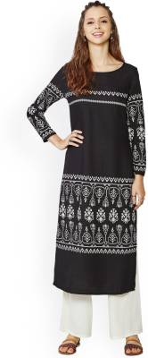 Global Desi Printed Women's Straight Kurta