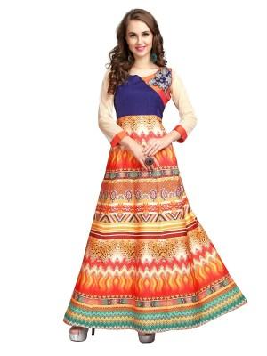 Rama Festive Floral Print Women