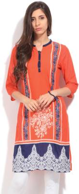 Aurelia Printed Women's Straight Kurta