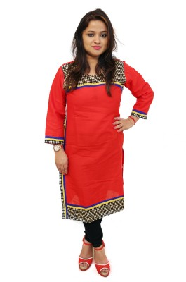 ROSSABELLE Casual Printed Women Kurti(Multicolor)